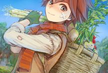Harvest Moon and Rune Factory