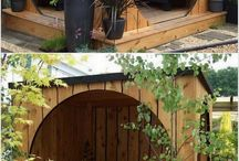 pallet garden shed beautiful