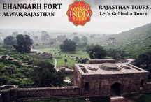BHANGARH FORT / Read the scary blog on BHANGARH FORT  http://letsgoindiatours.blogspot.in/2016/05/bhangarh-fort.html