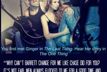 The One Thing / Ginger's story. 2nd book in the Hollywood Timelines series. Coming Jan 2015
