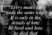 The Love Quotes Celebrity Quotes : Dad lived a great life & he left this world a great man ~ MAB…