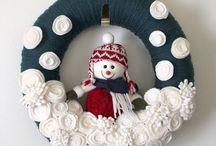 Ghirlanda pupazzo di neve