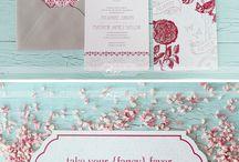 invitations / by Kelsie Rae Design