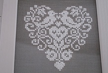 Cross Stitch Hearts