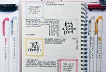 Bullet Journal & Diary