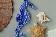 Beaded See horse