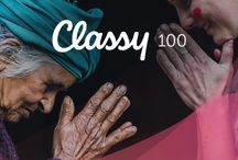 #theclassy100 - 100 nonprofits that grew on Classy in 2016 / The Classy 100 is an annual list of the top 100 consistently growing nonprofits on the Classy platform. Check back throughout the year to discover their growth methods, unlock their secrets, and download guides to make 2017 your year of growth! Start your journey >> classy.org/classy100