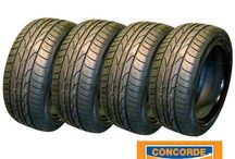 Tyres at Concorde Auto Centre / www.concordeautocentre.com/car-tyres Try our online quote and booking system - all prices include VAT, fitting, balancing and disposal of your old tyres!