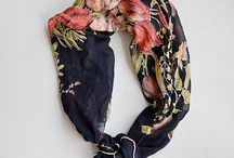 Silk scarves to die for / Colourful, playful and elegant silk scarves