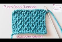 Honeycomb Tunisian crochet