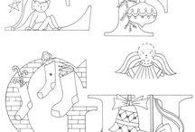 Alphabet illustré / Tuto