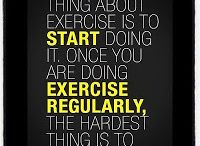 Exercise / Motivation to get moving / by Barb Wrathall
