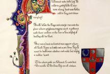 SCA Illumination/calligraphy