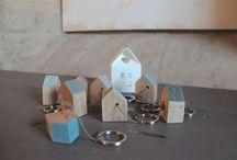 """""""portachiavi"""" / le chiavi della TUA casa si meritano un portachiavi CASETTA handmade by Pompelmo-rosa"""