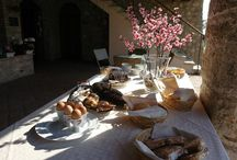 Breakfast / Try our buffet prepared breakfast on our terrace or in the garden enjoying the beautiful view of Lake Garda. www.cascinacrocelle.it