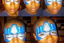 pinturas faciais-super heróis