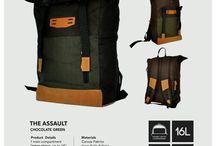 RAVER - THE ASSAULT / Ready Stock ! RAVERORIGINALS Tas lokal asli buatan bandung - Indonesia