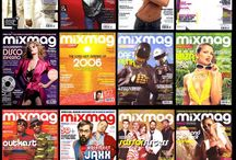 Mixmag Magazine Covers 1983-2006