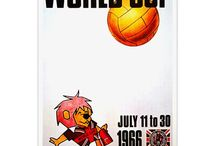 World Cup Soccer Poster Designs / A great look at design over the last few decades.