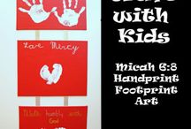 Crafting with Kids / Crafting is great for children. Here are some benefits and easy ideas.