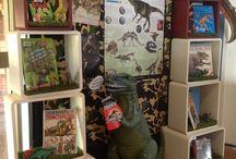 Library Display - Dinosaurs