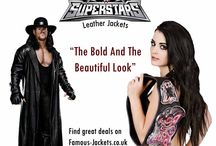 WWE Mens And Womens Leather Jackets Costumes For Sale
