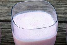 Milk kefir smoothies