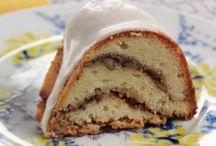 bodacious baked goods - cakes, pies, cheesecakes... / by Chris Hnatko