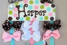 holder for hair bowes
