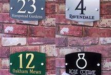 Street Address Signs