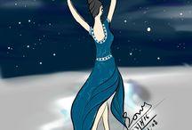 Dancing sketch / Dancing girls , boys and couple sketch..Hope u like it.