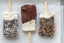 Home made ice creams