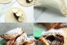 Cuisine - Desserts - Chaussons sucrés