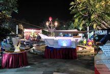 Berkah Catering - Outdoor bufee Catering at CItra Harmoni Waterpark SIdoarjo