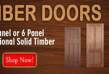 Timber Doors Melbourne