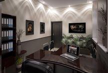 Интерьер офиса, кабинета