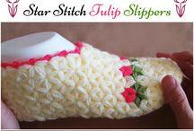 Crochet fashion - Flip Flop / flip flop