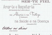 Caligrafia / Fontes, caligrafias, textos, convites, cartões