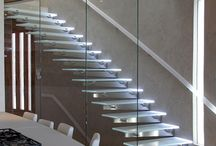 Staircases, Guardrails and Flooring