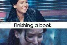 Finishing a book