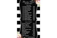 pricelist ideas