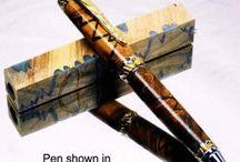 Specialty Pen Blanks / Specialty pen blanks for for the penturner & woodturner