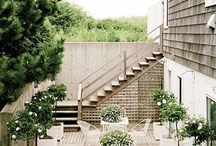 Outside Living - Balconies and Terrace / by The Antiques Diva - Toma Clark Haines
