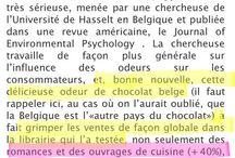 A Propos de l'Olfaction / Parution, publication, reportage sur le marketing olfactif