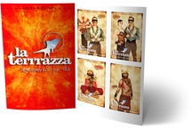 La Terrrazza flyers / Peace, Love & music from 1995 till today!