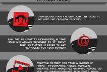 Infografias / Infografias sobre Marketing Digital, diseño y desarrollo web, turismo y tecnología / by Crhystyann Diseño Web