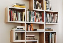 Book shelves / Libraries