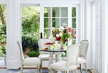 Sunrooms/3-Season Porches / A collection of inspiring ideas for your sunroom or 3-season porch. From cozy and warm to breezy and bright, we've got an example! / by Mary @ Front Porch Ideas and More
