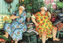 Veselé babičky / né jen kreslené