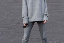 Grey / Grey outfits